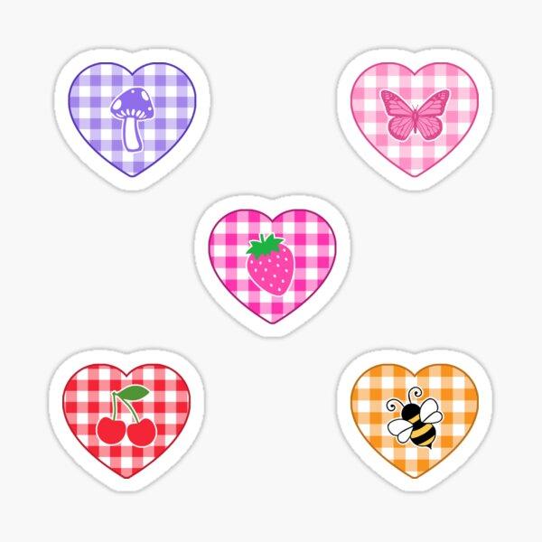 cottagecore hearts  Sticker
