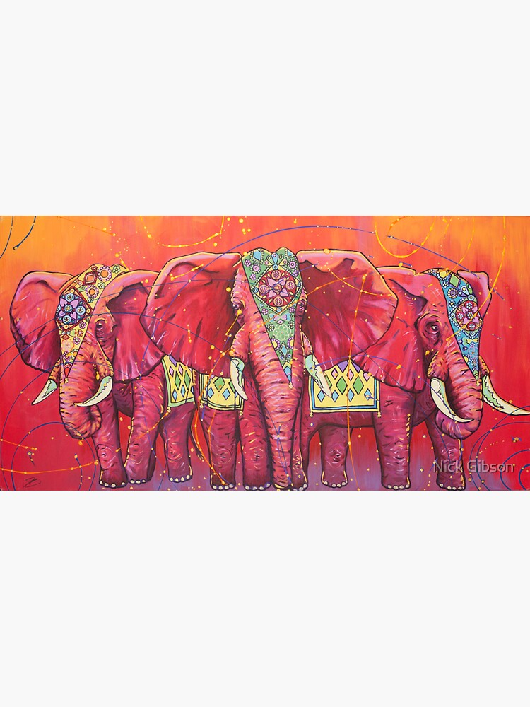 The Universal Indian Elephants, #69 by universalartist