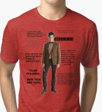 The Best of the 11th Doctor Tri-blend T-Shirt