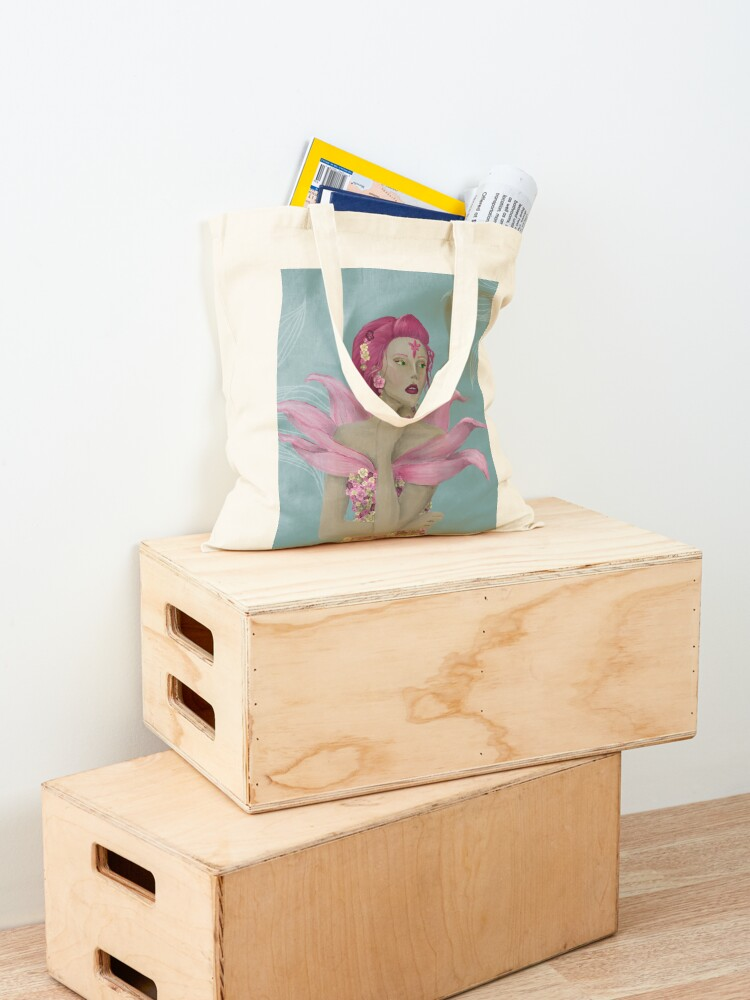 Alternate view of The Flower Tote Bag