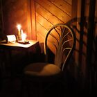 Candle Light and Shadows by Diane Arndt