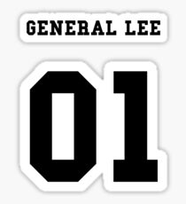 General Lee 01 Sticker