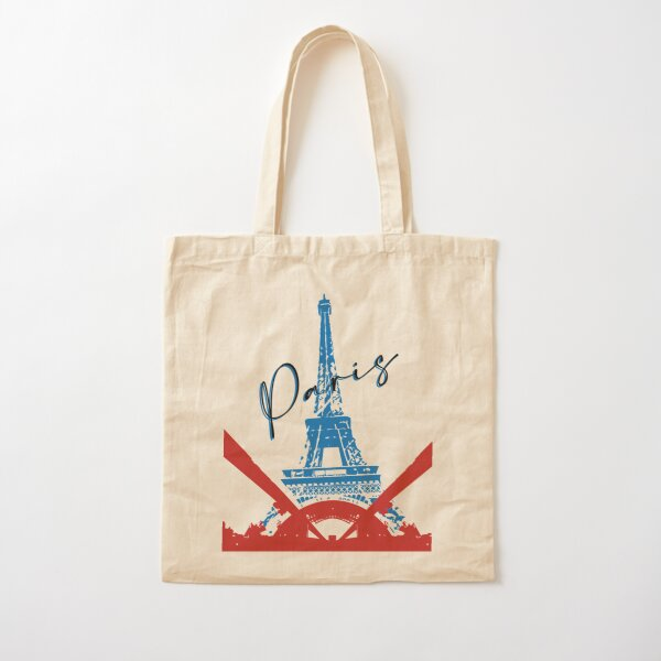 City of Love Cotton Tote Bag