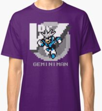 Gemini Man with Grey Text Classic T-Shirt