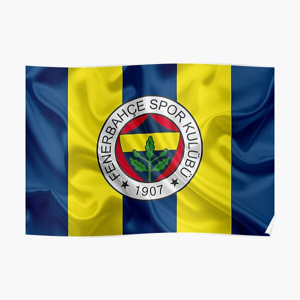 Fenerbahce Flag Poster