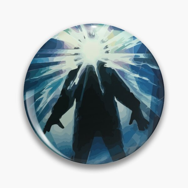 The Thing Movie Poster Illustration Pin