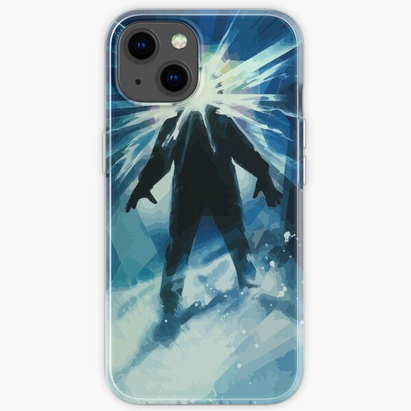 The Thing Movie Poster Illustration iPhone Soft Case
