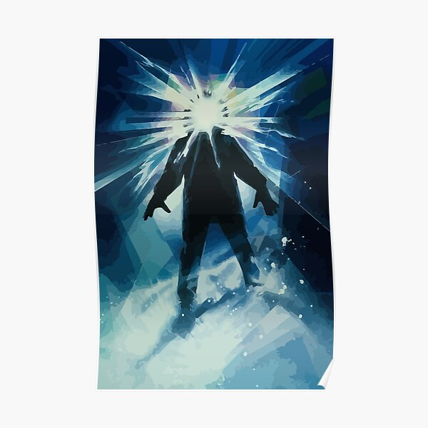 The Thing Movie Poster Illustration Poster