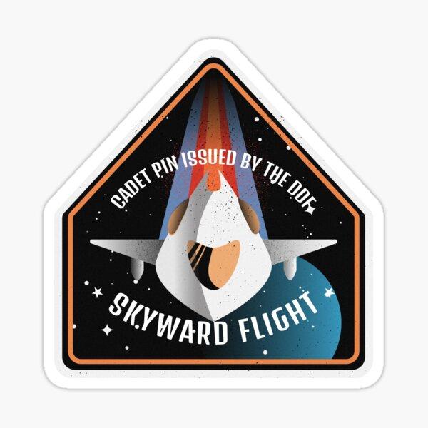 Skyward: Cadet Pin Sticker