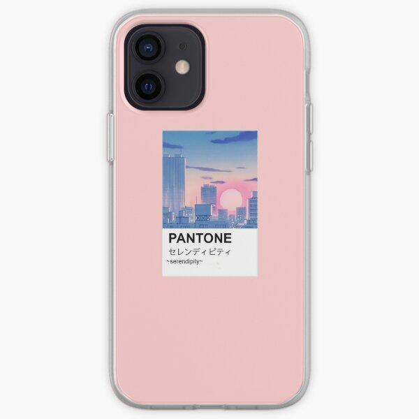 Pantone aesthetic anime city paint iPhone Soft Case