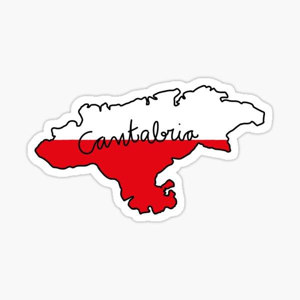Cantabria Pegatina