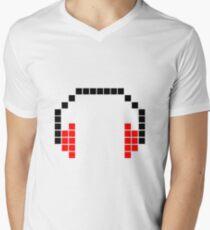 8 Bit Headphones; Pixel Headphones T-Shirt