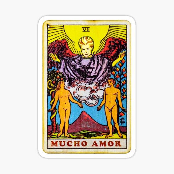 Mucho Mucho Amor | Carta de tarot Pegatina
