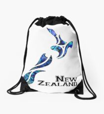 Fluid New Zealand Drawstring Bag