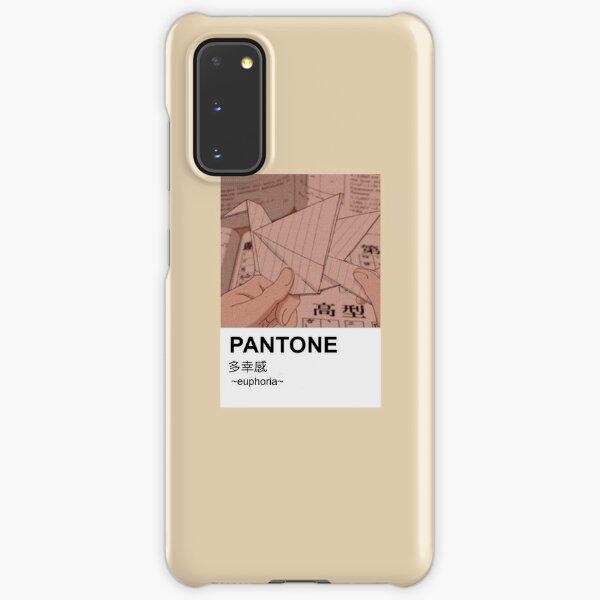Pantone aesthetic anime origami paint Samsung Galaxy Snap Case