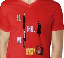 BBC Fandom w/ Star Trek Into Darkness Quote  Mens V-Neck T-Shirt