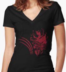 Mass Effect - Wrex Women's Fitted V-Neck T-Shirt