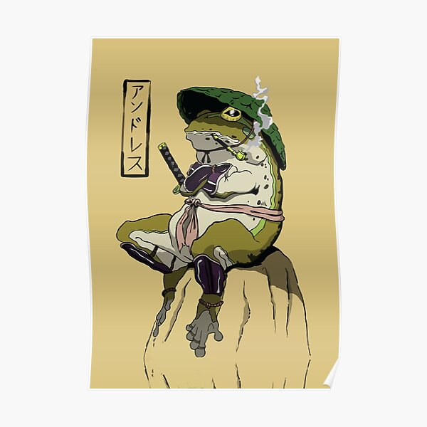 grenouille Poster