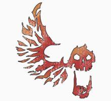 Bandit Flame Wing Skull | Unisex T-Shirt