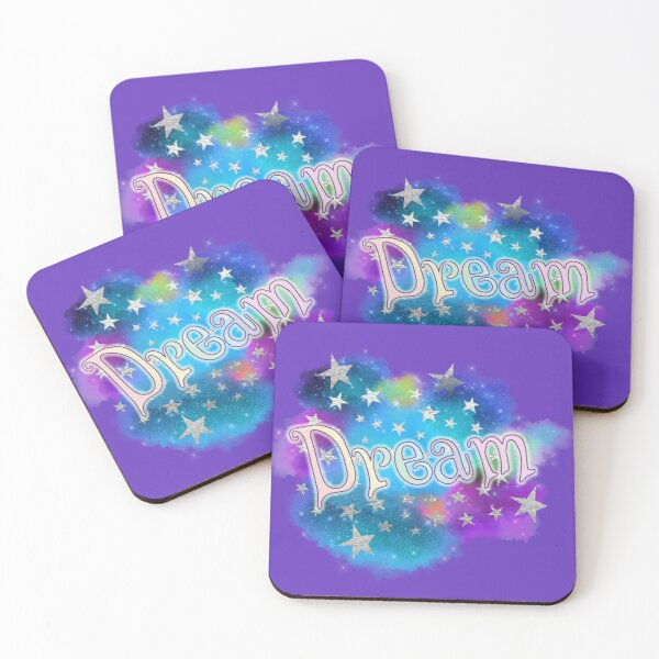Dream - Clouds and Stars Coasters (Set of 4)
