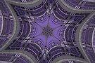 Purple Art Deco by Tori Snow