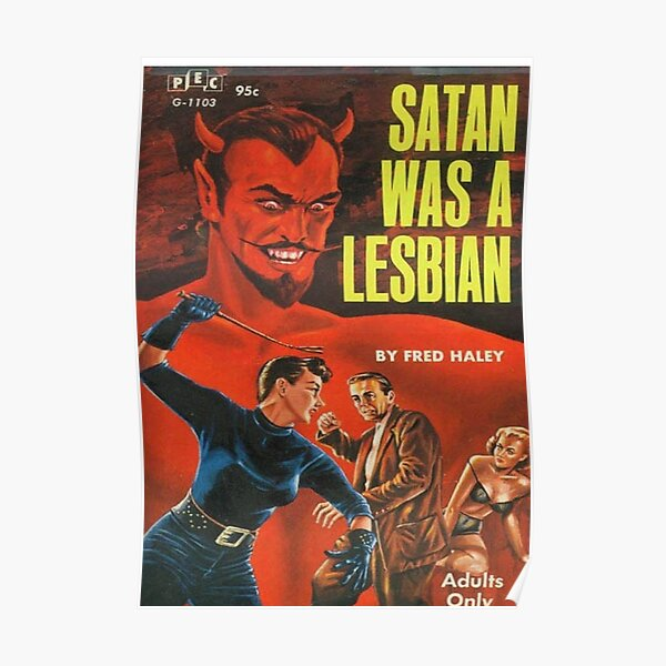 Satan is a lesbian Poster
