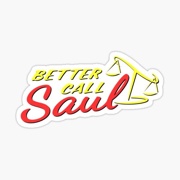 Logotipo de Better Call Saul Pegatina