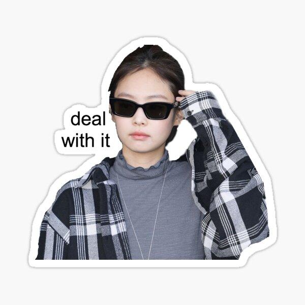 BlackPink Jennie - Traitez-le Sticker Sticker