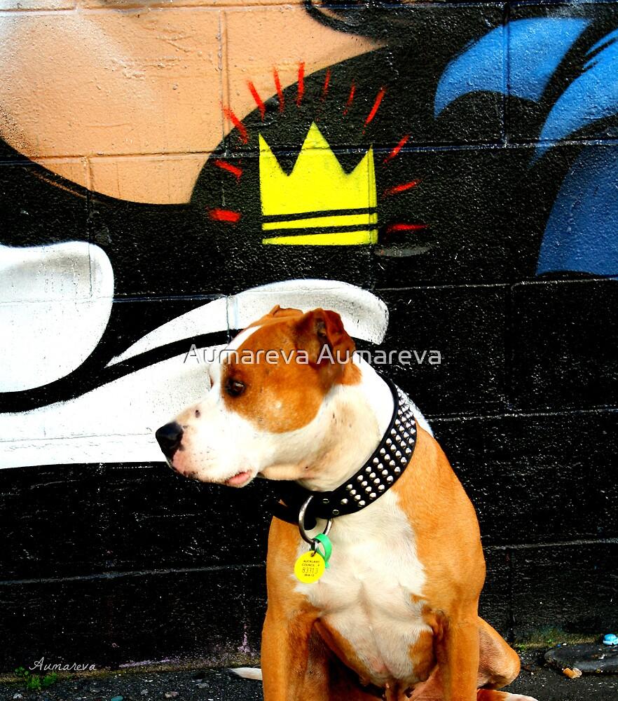 Graffiti dog by Aumareva Aumareva