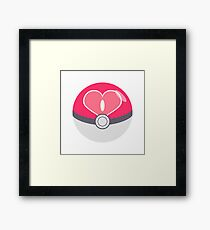 Love Ball Framed Print