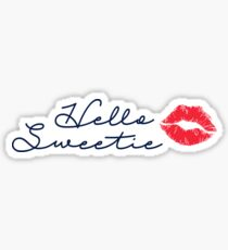 Hello Sweetie Sticker