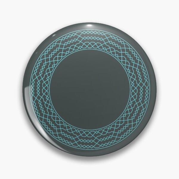 Stedman Triples Method Wreath — Pin (Blue) Pin