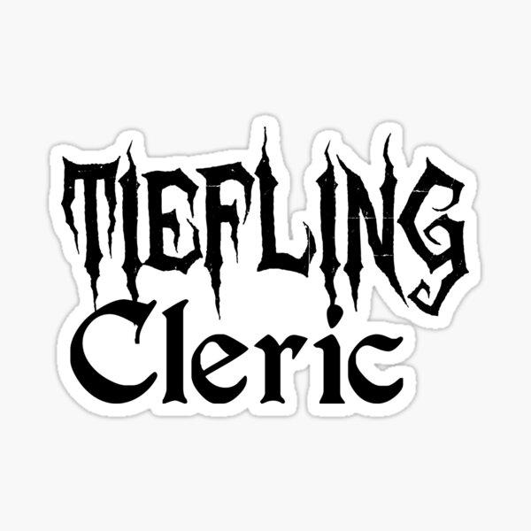 Tiefling Cleric Sticker