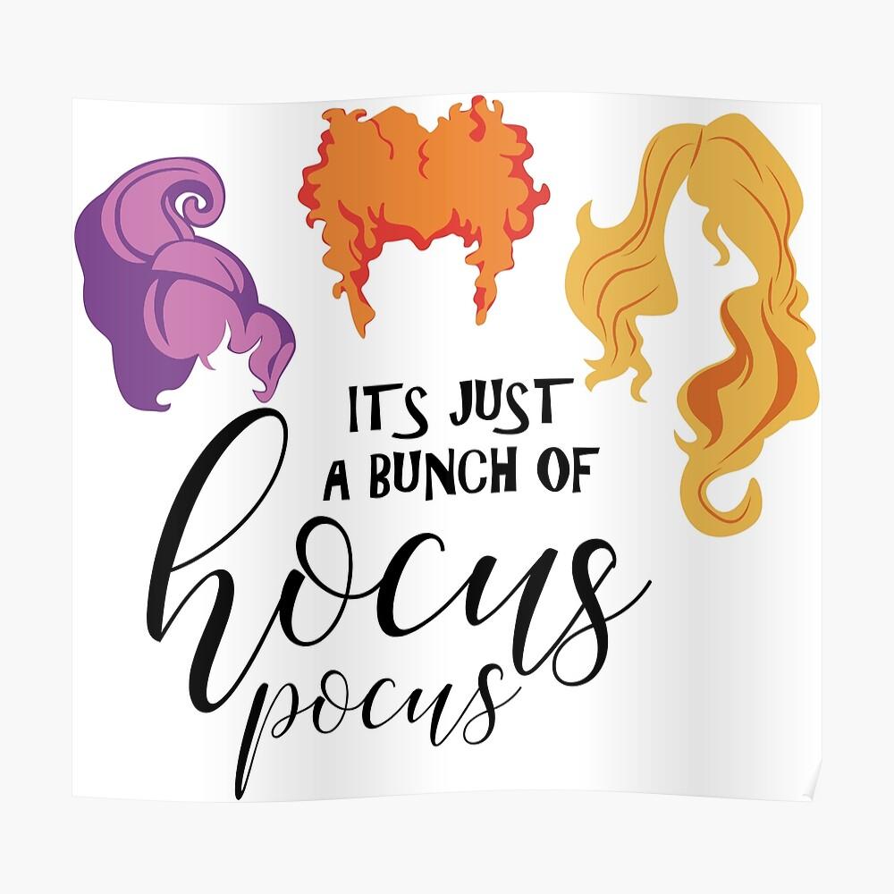 Hocus Pocus Inspiré Halloween Boucles d/'oreilles il est juste un tas de Hocus Pocus