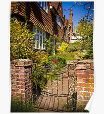 St Mary Bourne Garden Poster