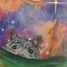 Space Wolf by jonezajko