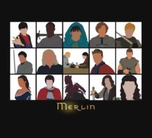 Characters Of Merlin | Unisex T-Shirt