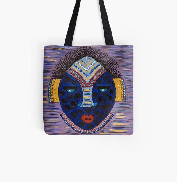 Black Girl Magic All Over Print Tote Bag