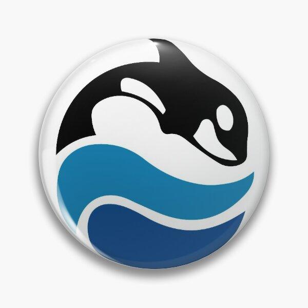 Vintage SeaWorld Logo Pin
