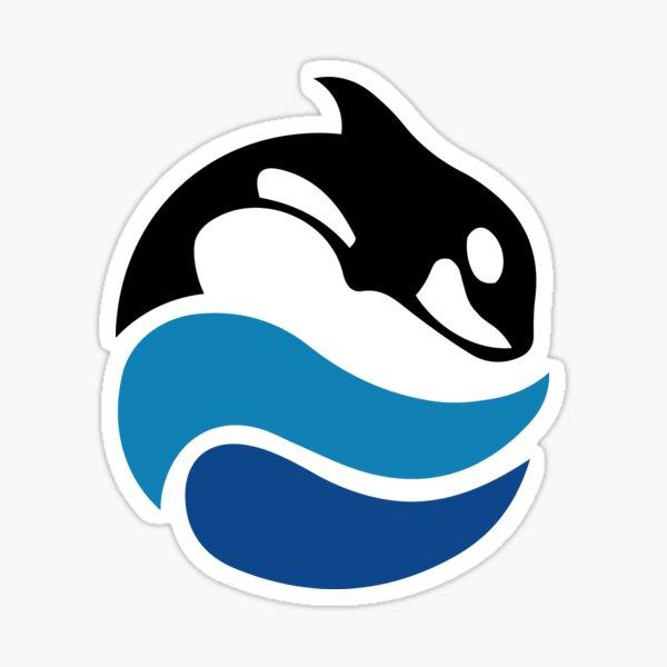 Vintage SeaWorld Logo Sticker