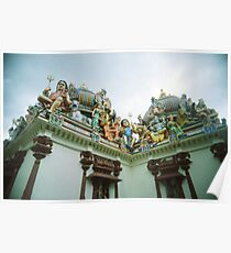 An Imposing Gallery - Lomo Poster