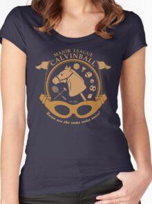 Major League Calvinball Women's Fitted Scoop T-Shirt