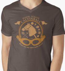 Major League Calvinball Mens V-Neck T-Shirt