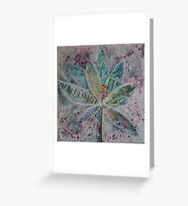 Hallelujah Lotus Greeting Card
