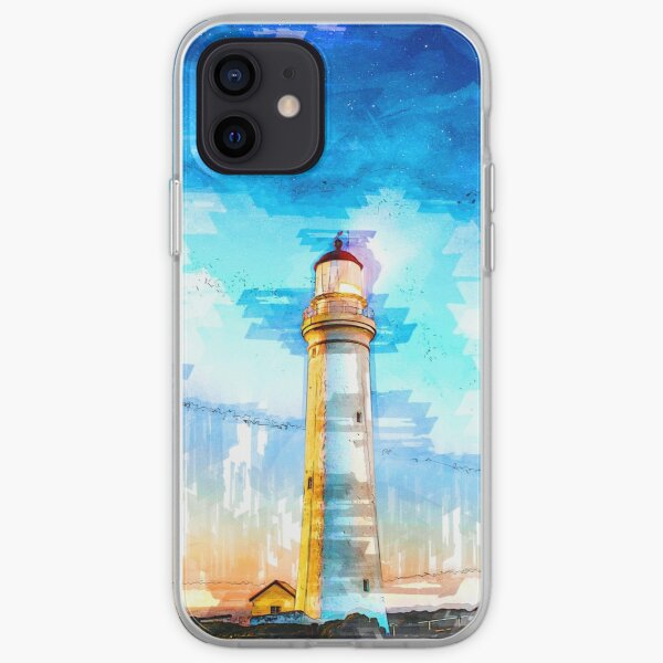 Lighthouse Night Cape Nelson Portland Australia - For Lighthouse Lovers iPhone Soft Case