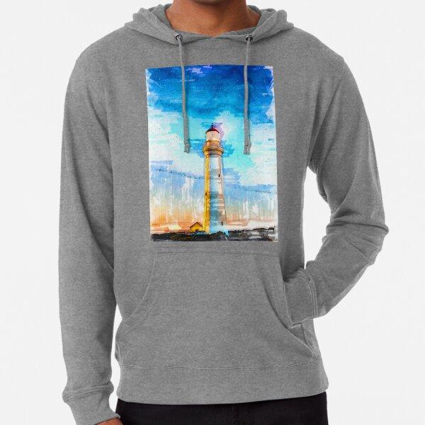 Lighthouse Night Cape Nelson Portland Australia - For Lighthouse Lovers Lightweight Hoodie