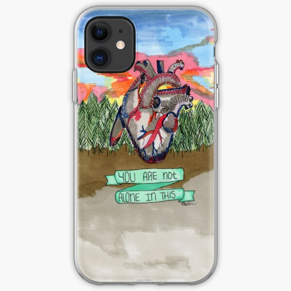 Not Alone iPhone Soft Case