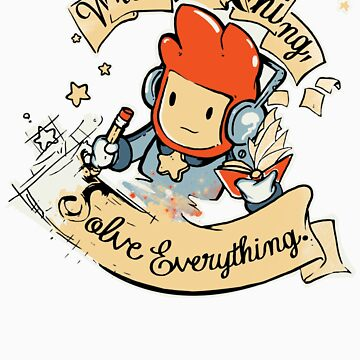 Write Anything, Solve Everything. by JKTees