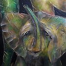 Baby Elephant 4 by Tom Norton