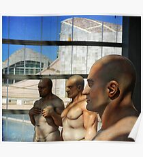 Sculpture exhibition Poster